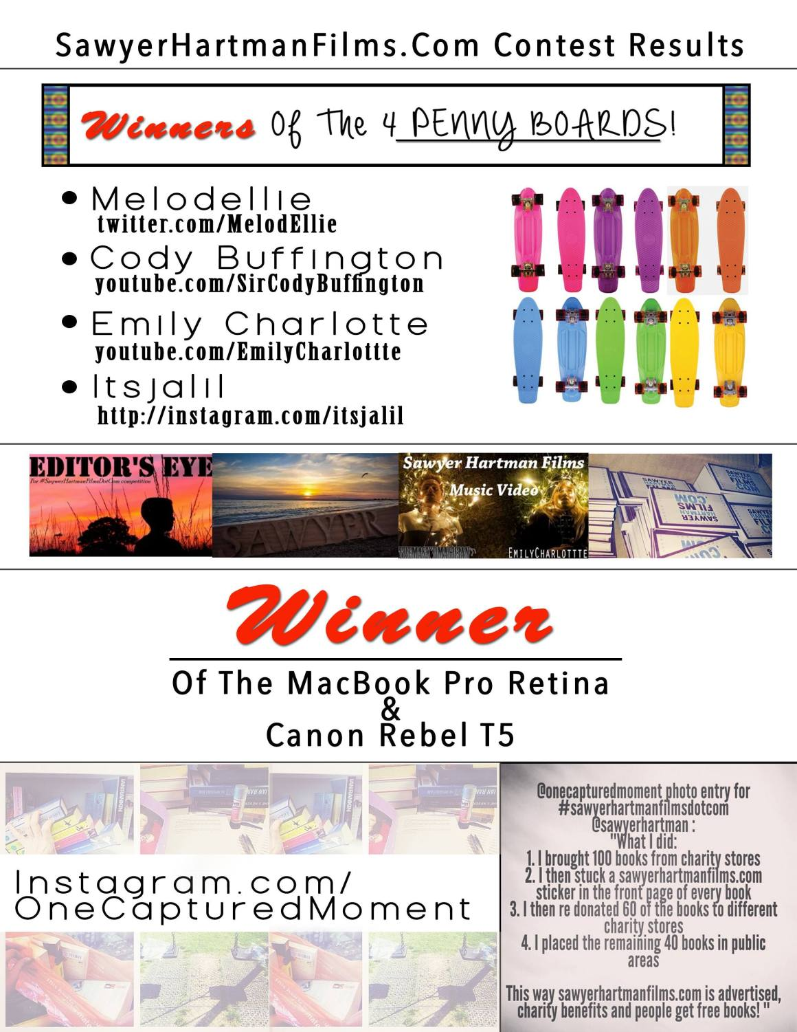 contest Winner page