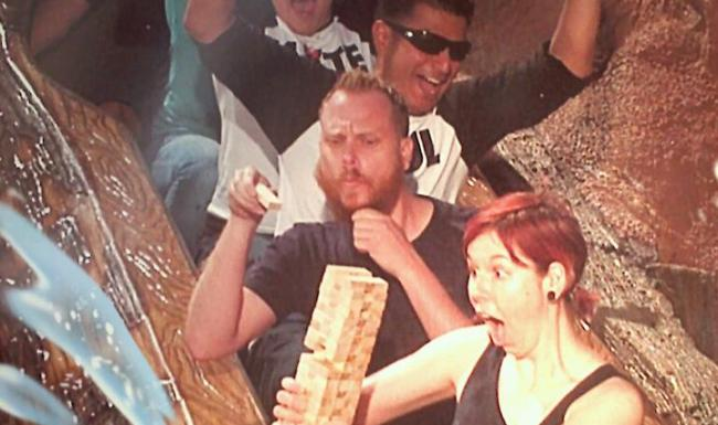 splash mountain jenga