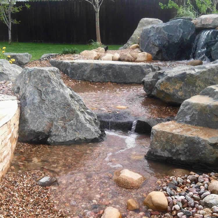 Backyard Falls Pondless Waterfall