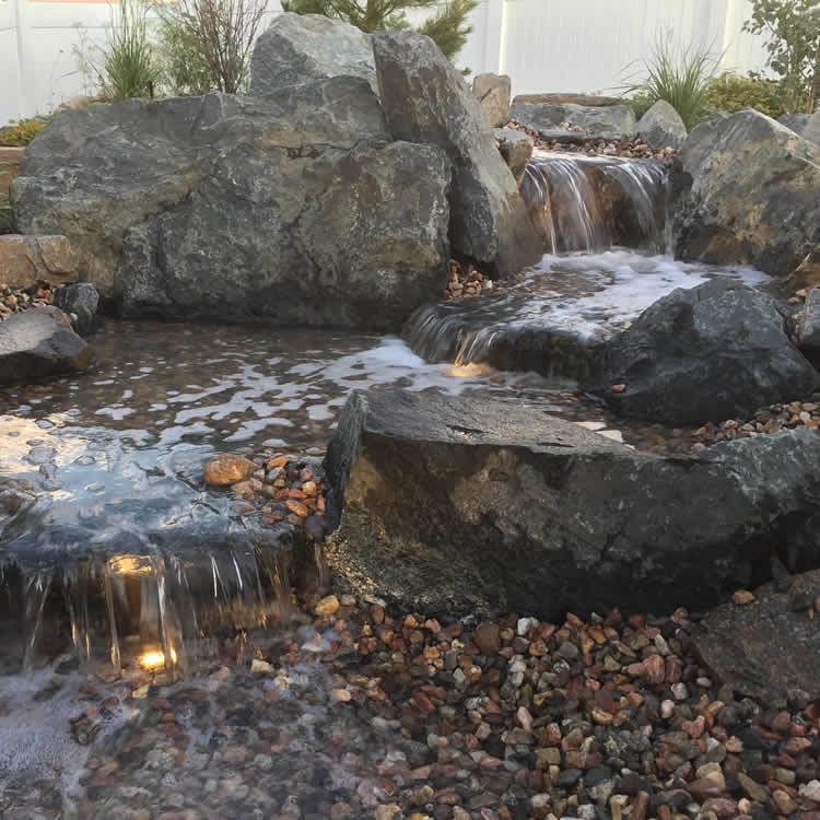 Front Door Falls Pondless Waterfall