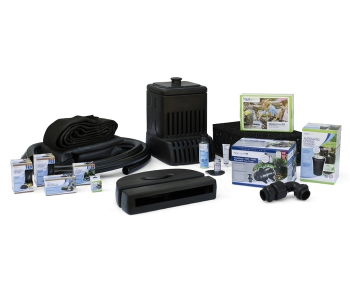 Medium Pondless Waterfall Kit with 16' Stream and AquaSurgePRO 2000-4000 Pumpclose