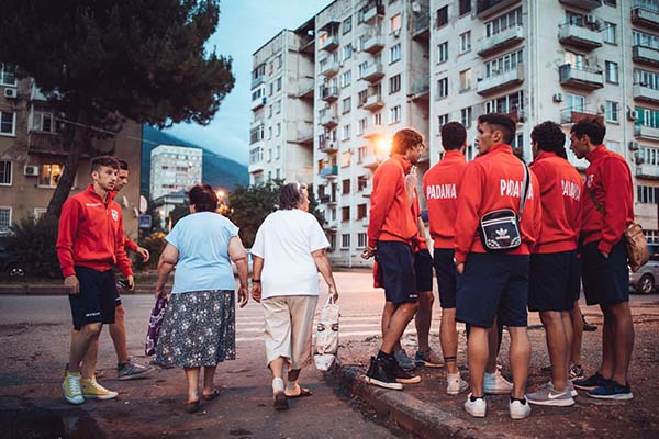 Padania Football team in Abkhazia for the World Cup of Unrecognized States 2016. ©Max Avdeev