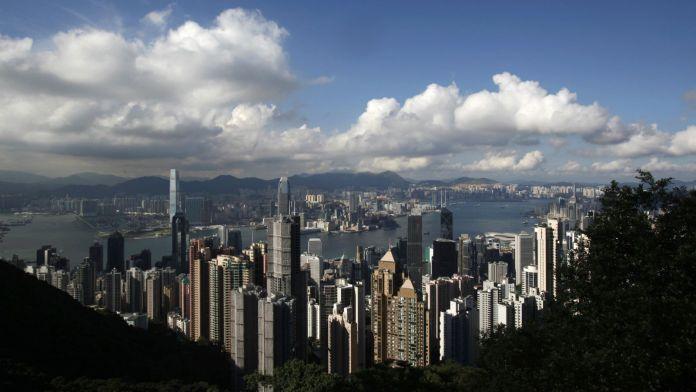 The Hong Kong skyline. Reuters/Bobby Yip