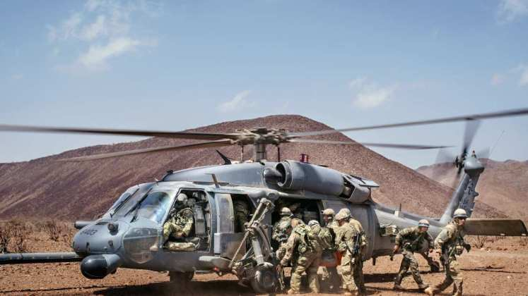 US And French Military Training Exercise In Djibouti