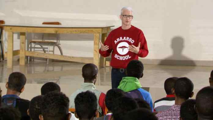 Anderson Cooper's Advice For Students