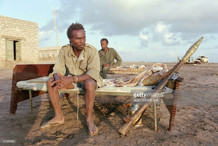 Rebels Of Somali National Movement Snm Sit On Their Beds 30 November 1989 In Leila Northern Somalia | Saxafi