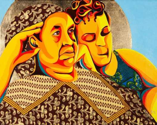 Oklahoma Artist Ebony Iman Dallas Traces History, Heritage 'Through Abahay's Eyes'