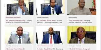 Wefti Madaxweyne Ku-Xigeenka Somaliland Iyo Toddoba Wasiir Ka Kooban Oo Safar Ugu Baxaya Imaaraatka