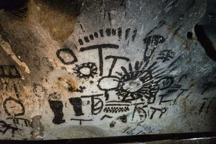 Ancient Wall Paintings And Carvings