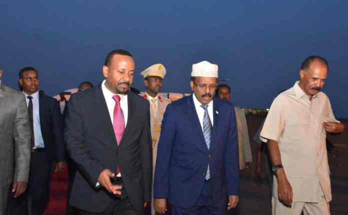 New Horn - Abiy: Eritrea, Ethiopia And Somalia Will Not Have Three Presidents In The Future