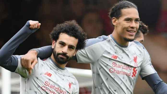 Mohamed Salah Hat-Trick Sends Liverpool Top Of Premier League
