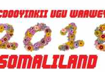 Somaliland Iyo Dhacdooyinkii Ugu Waa Weynaa Sanadkii Galbaday Ee 2018-ka