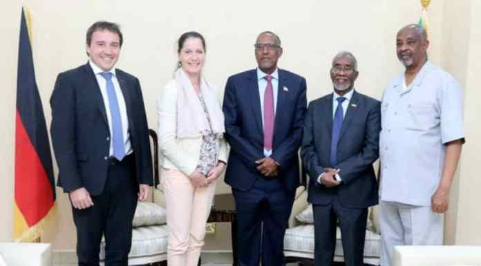 Germany To Develop Somaliland As Bashe Meets Austrian Envoy