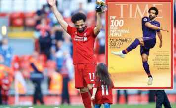 Mohamed Salah Named In TIME Magazine's 100 Most Influential People In The World