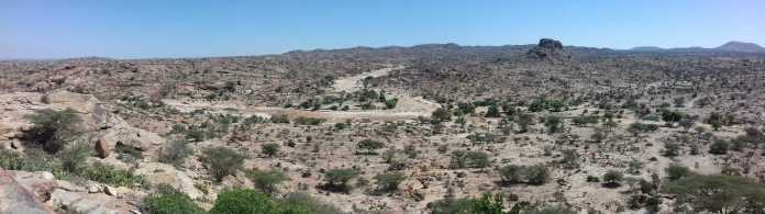 desertic countryside of Somaliland