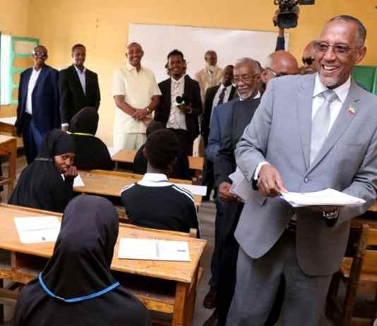 Madaxweyne Muuse Biixi Oo Daah-Furay Imtixaanka Shaaadiga Ah 2019