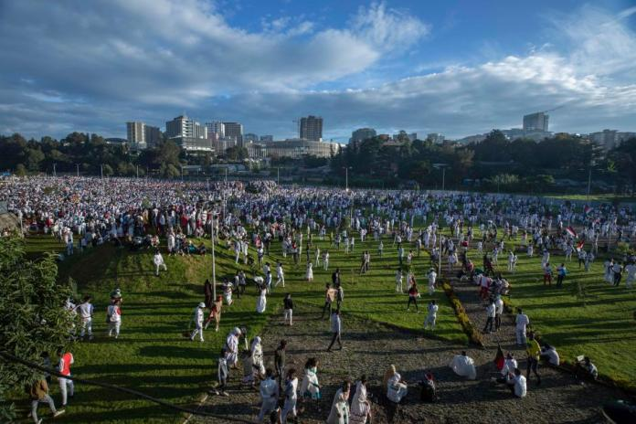 Ethiopia's Oromos Mark Thanksgiving Festival In Addis Ababa For The First Time In 150 Years