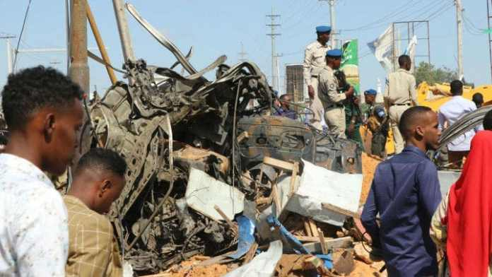 Truck Bomb Kills At Least 90 In Somalia Capital