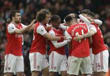 Arsenal-City Game Called Off With Players In Self-Isolation Coronavirus fears