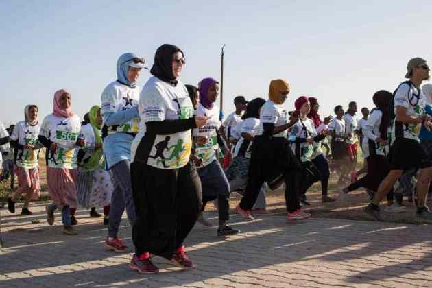 I Feel Strong and Free Running Takes Hold Among Women in Somaliland