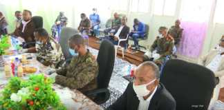 Somaliland, Ethiopia Military Officials Discuss COVID-19 Prevention Joint Efforts