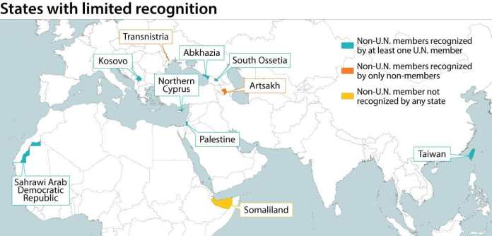States with limited recognition