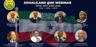Somaliland Holds Webinar To Celebrate Six Decades Since The End Of British Rule