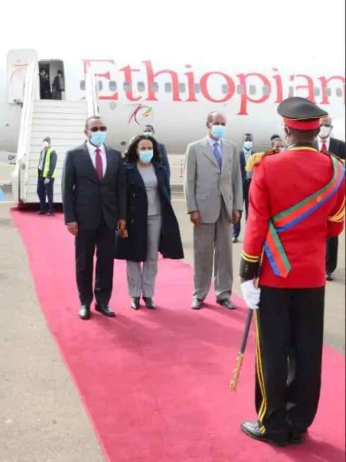 Ethiopian PM Abiy Ahmed In Eritrea