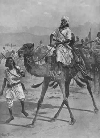 An artists impression ofSayyid Muhammad 'Abdullah Hassan