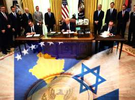 Israel To Recognize Kosovo, Which Will Open Embassy In Jerusalem Along With Serbia