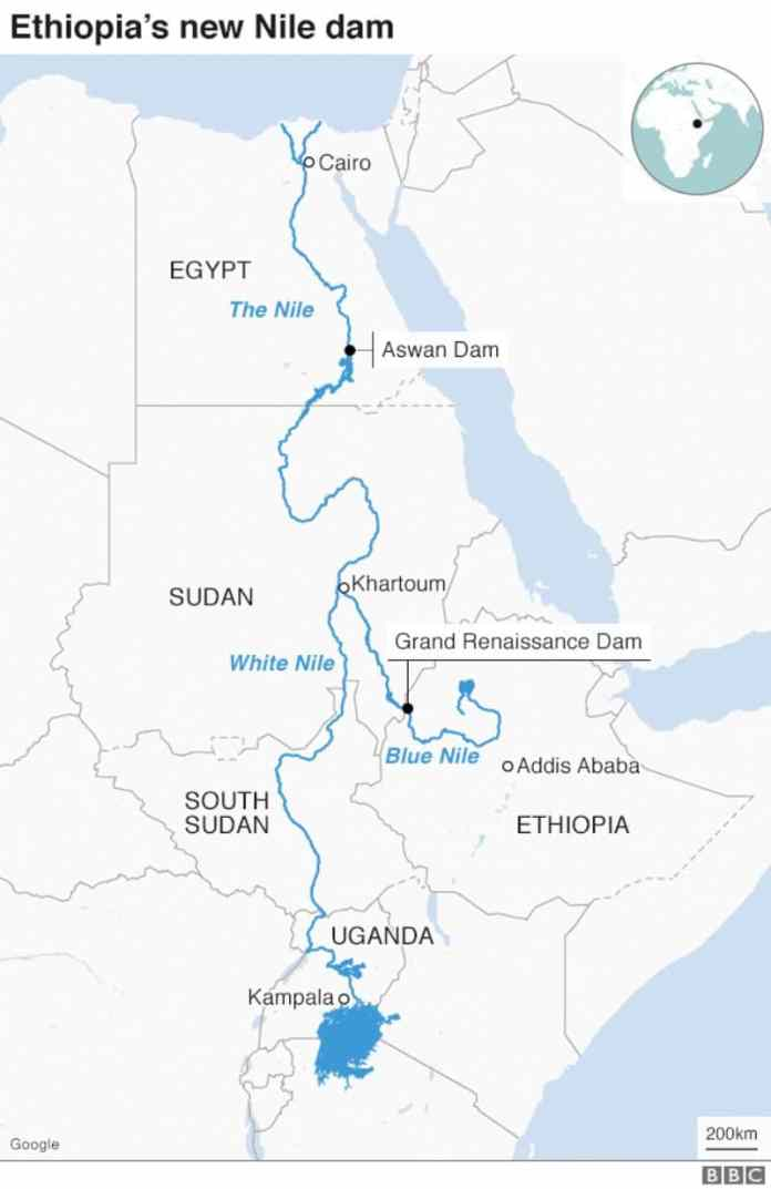 Ethiopia Bans Flights Above Grand Renaissance Dam