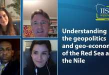 Understanding The Geopolitics And Geo-Economics Of The Red Sea And The Nile