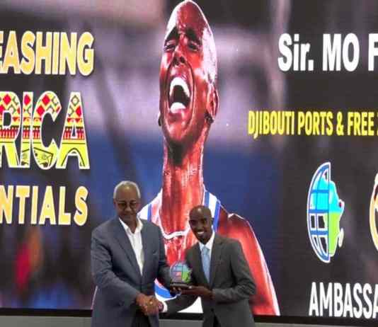 Somaliland-born Mohamed Farah Appointed Djibouti Ports Ambassador