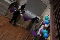 Bar Setup Near Haw River Ballroom's Indoor Vat Installation
