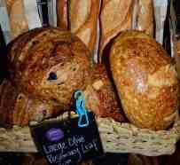 Fresh breads from Weaver Street Market