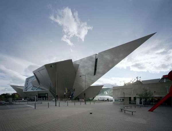 Denver Art Museum Libeskind - Saxon Henry