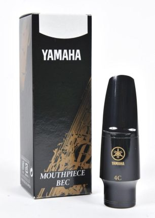 Yamaha 4C Saxophone Mouthpiece - these are ideal for beginner saxophonists due to the relative ease in which they can be controlled.
