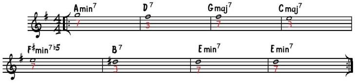 guide tones autmn leaves