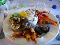 mini version of the seafood platter