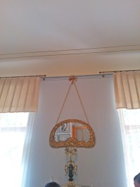 hanging mirror meant hung by ropes in those days