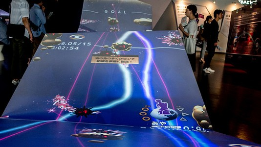 日本科学未来館 リニューアルされた常設展はゲーム感覚で未来への課題・環境問題・災害などを学べる