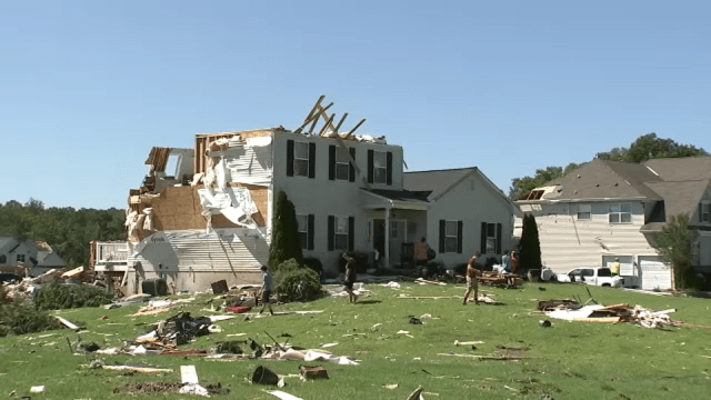Ida Storm Damage: Homes Destroyed By Tornado In Mullica Hill, New Jersey