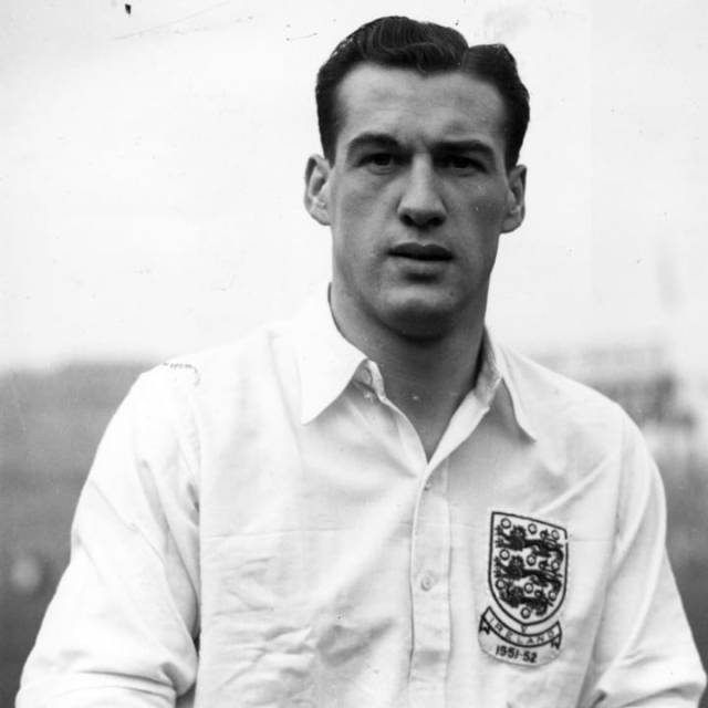 Nat Lofthouse was part of England's 1954 World Cup squad