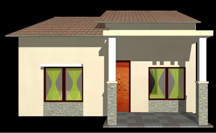 Gambar Desain Rumah Mewah Sederhana