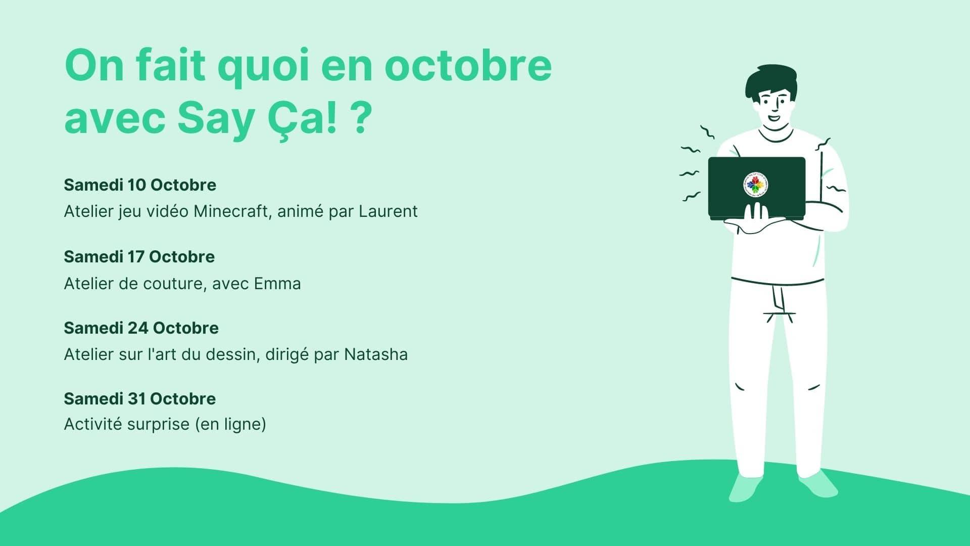 Programme Octobre 2020