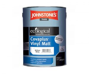 Johnstones Trade Covaplus 5L Brilliant White