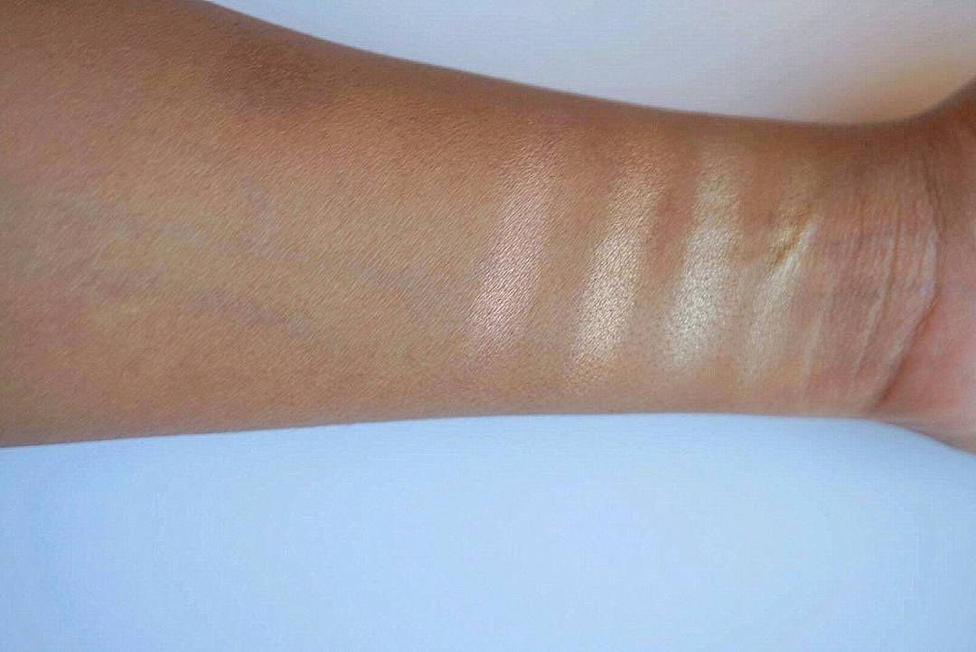 swatches of huda beauty