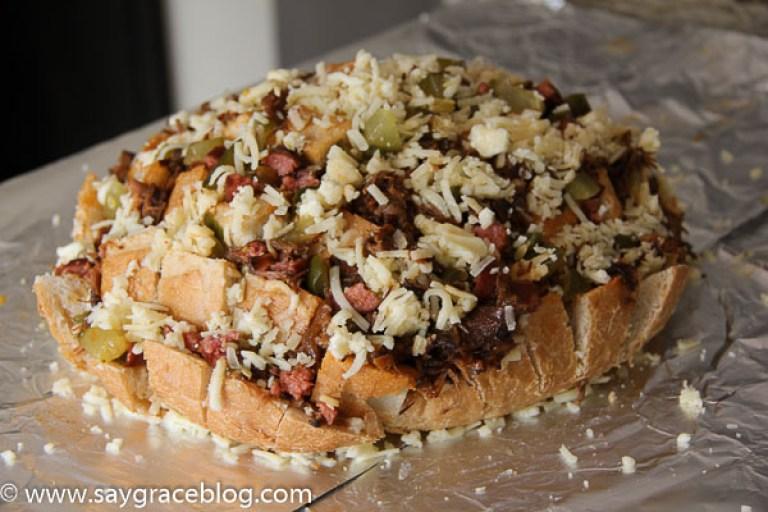 BBQ Pull Apart Bread