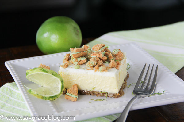 Key Lime Oreo Cheesecake Bar