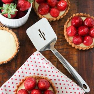 Elegant Strawberry Cheesecake Tartlets